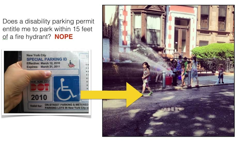 how people with disabilities can avoid a nyc parking ticket. Black Bedroom Furniture Sets. Home Design Ideas