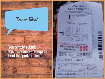 Nyc Traffic Ticket >> All the Laws you Ought to know before Parking at a Muni-Meter