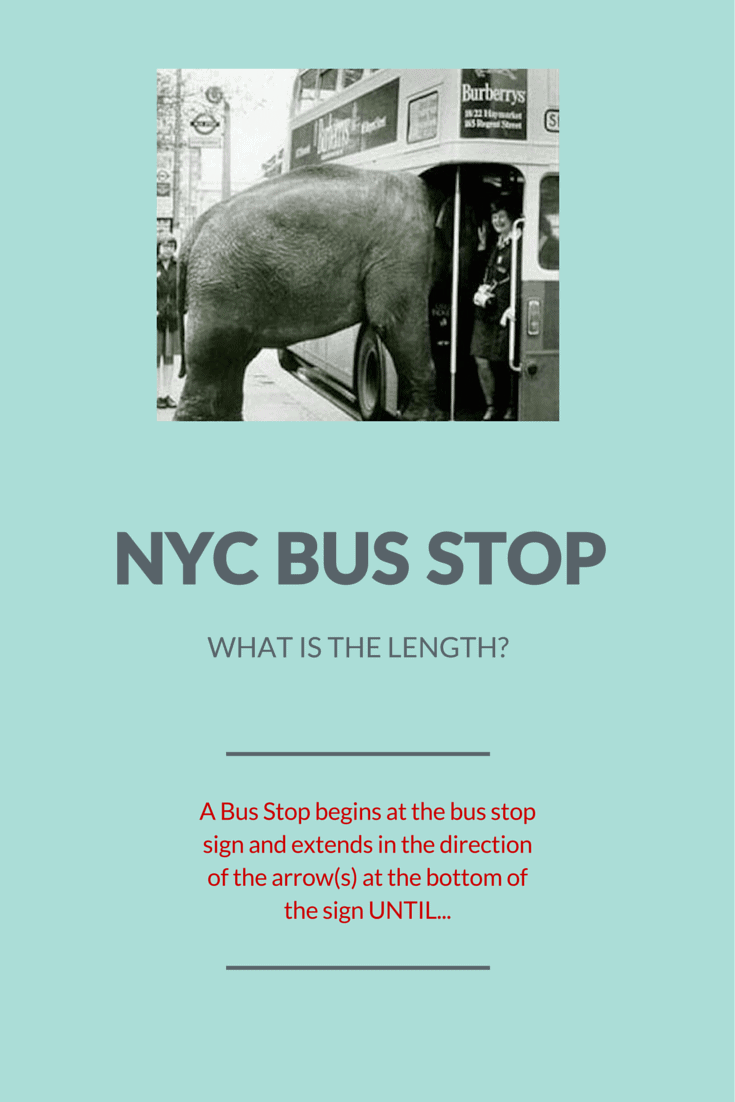 "Traffic Ticket Nyc >> How to Beat a NYC Parking Ticket for ""No Standing-Bus Stop"""